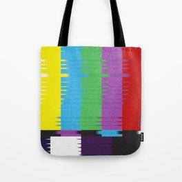 color tv bar#glitch#effect Tote Bag