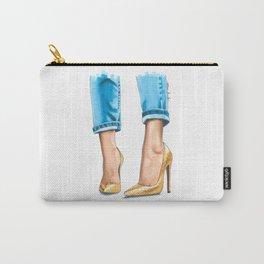 Golden Heels Carry-All Pouch