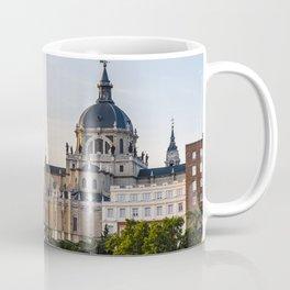 Almudena cathedral of Madrid Coffee Mug