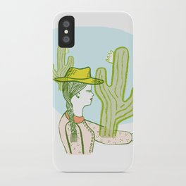 Westward Ho! iPhone Case