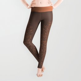 Branches and Buds in Warmth Leggings