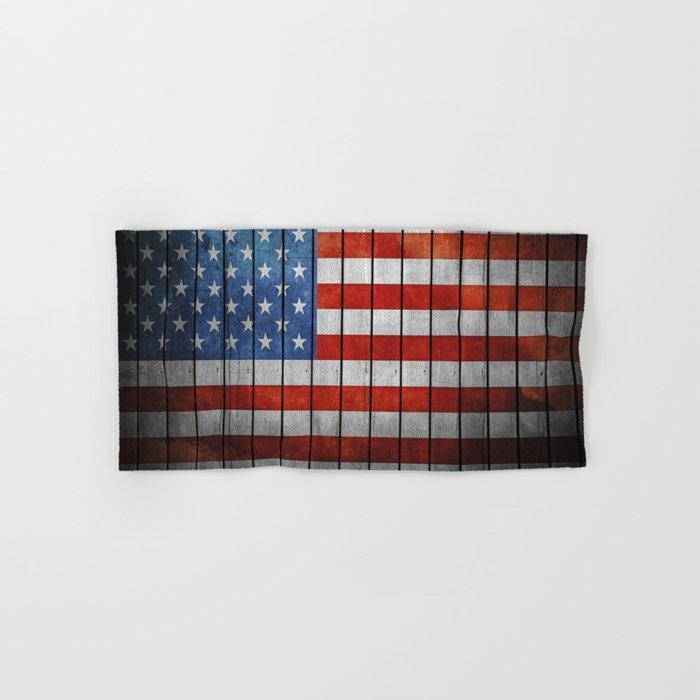 American Flag Hand & Bath Towel