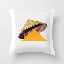 Non-La Throw Pillow