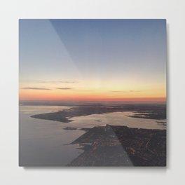 Above the Rising Sun  Metal Print