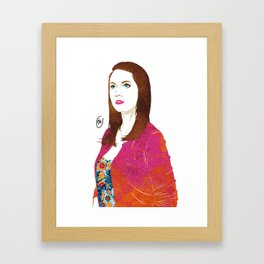 Community Annie Edison  Framed Art Print
