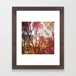 Hazy Framed Art Print