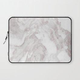 White Marble Mountain 013 Laptop Sleeve