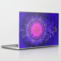 moon phase Laptop & iPad Skins featuring Phase love by RYOKO TAKAHASHI