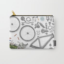 a bike's flatlay Carry-All Pouch
