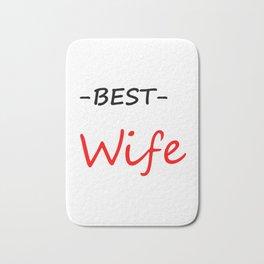 Best wife Bath Mat