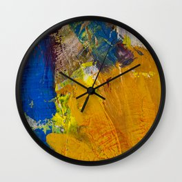 Flower dual Wall Clock