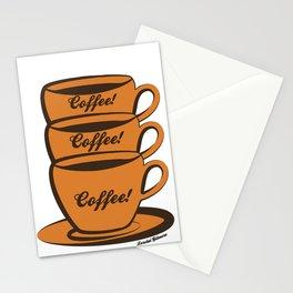 Coffee! Coffee! Coffee! Stationery Cards
