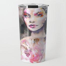 Valentino 2019/1. Runway fashion illustration Travel Mug
