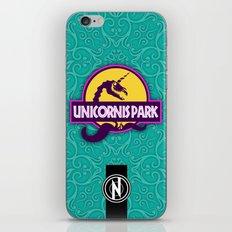 Unicornis Park iPhone & iPod Skin