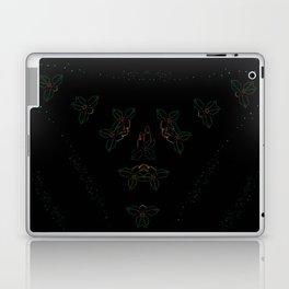 Continuous Christmas Candles Laptop & iPad Skin