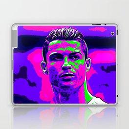 Ronaldo - Neon Laptop & iPad Skin
