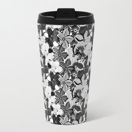 Flowers black & white serie 2 Travel Mug