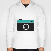 cameras Hoodies featuring cameras by Sahar