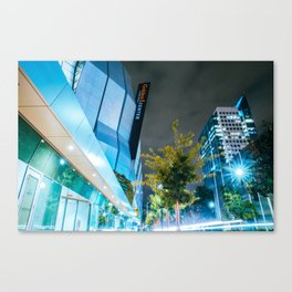 The City's Come Up Canvas Print