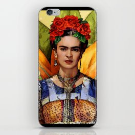 FRIDA KAHLO MARIPOSA iPhone Skin