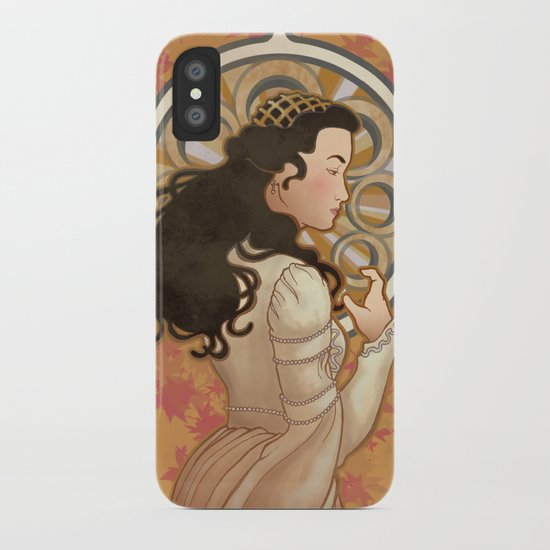 Loved by the Sun Nouveau iPhone Case
