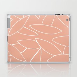abstract tropical leaves Laptop & iPad Skin
