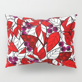 Retro . Bright colorful pattern . Pillow Sham