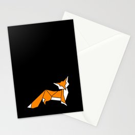 Origami Little Fox Stationery Cards