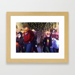 Winter in Malaga Framed Art Print