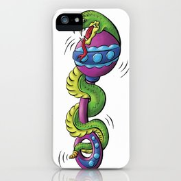 Rattle Snake iPhone Case