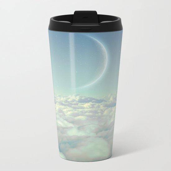 Dream Above The Clouds Metal Travel Mug