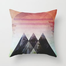 Fractions B00 Throw Pillow