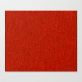 Red Fibre Canvas Print