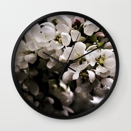Apple Blossoms 3 Wall Clock