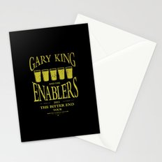 Gary King and the Enablers Stationery Cards