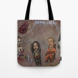 With Hell In My Eyes And With Death In My Veins Tote Bag