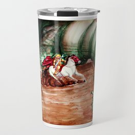 Saint George And The Dragon Travel Mug