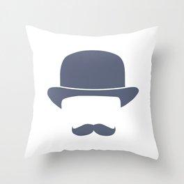 Gentleman Throw Pillow