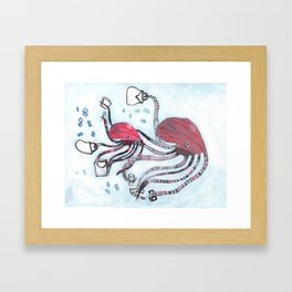 Bargain Hunters Framed Art Print