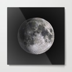 The Full Moon Super Detailed Print Metal Print
