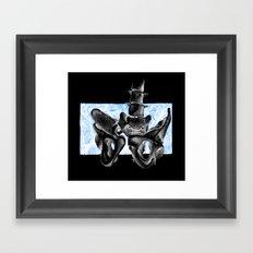 illiac Framed Art Print