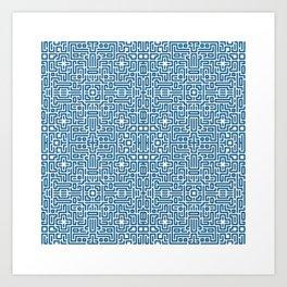 symmetry 4 Art Print