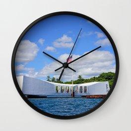 Perl Harbor Wall Clock