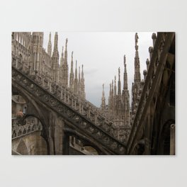 Repeating Arches Canvas Print