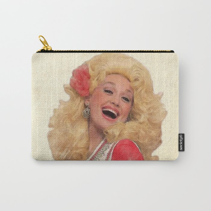 Dolly Parton - Watercolor Carry-All Pouch