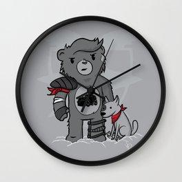 Mad Caring Max Wall Clock