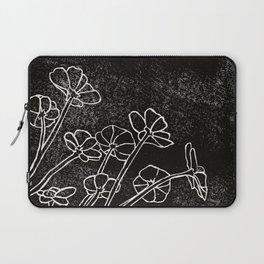 Dark Flowers Laptop Sleeve