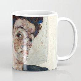 "Egon Schiele ""Self-Portrait with Physalis"" Coffee Mug"