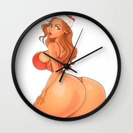 Charles_Illustration Wall Clock