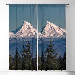 Mt. Hood Memories - 120/365 Nature Photography Blackout Curtain